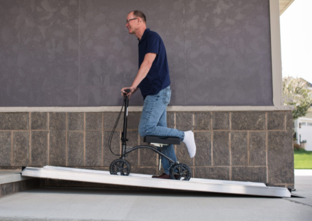 An Accessible Ramp That's Lifetime Warranty and Made in the USA