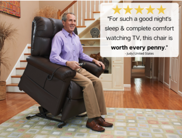 Lift Chair Buying is Easy at Certified Medical